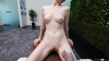 Picture 16 - Pearl Pasty White Girl Fucks on Casting Couch HD