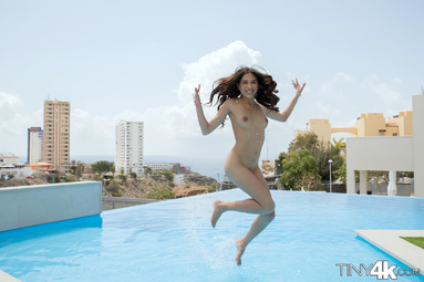 Picture 9 - Baby Nicols on Tiny4k in Playful Pool Tease
