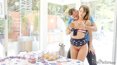 Picture 7 - Emily Addison on Pure Mature in 4th of July Celebration