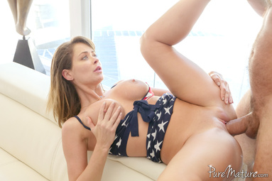 Picture 16 - Emily Addison on Pure Mature in 4th of July Celebration