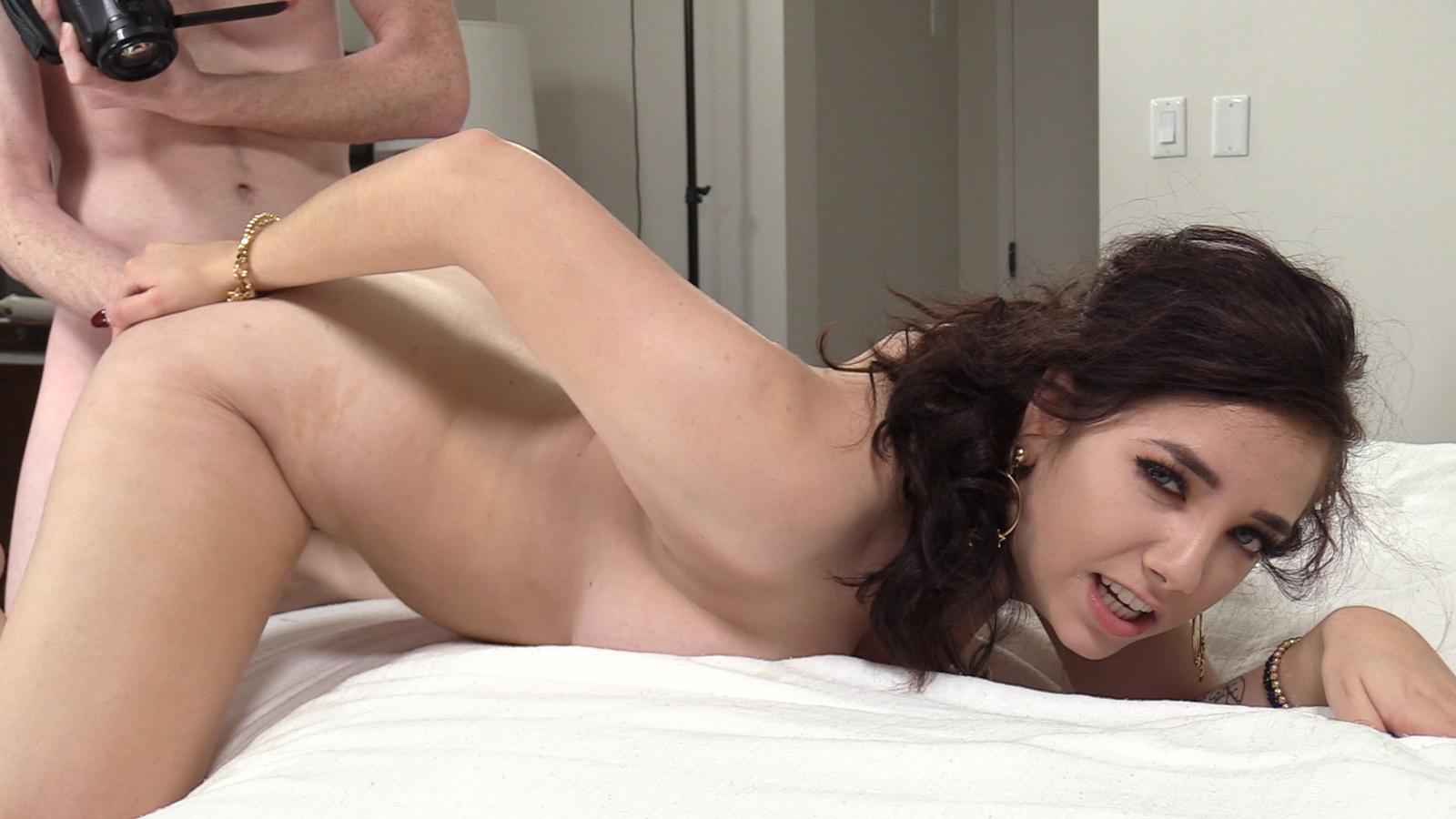 Big tits college girl alison